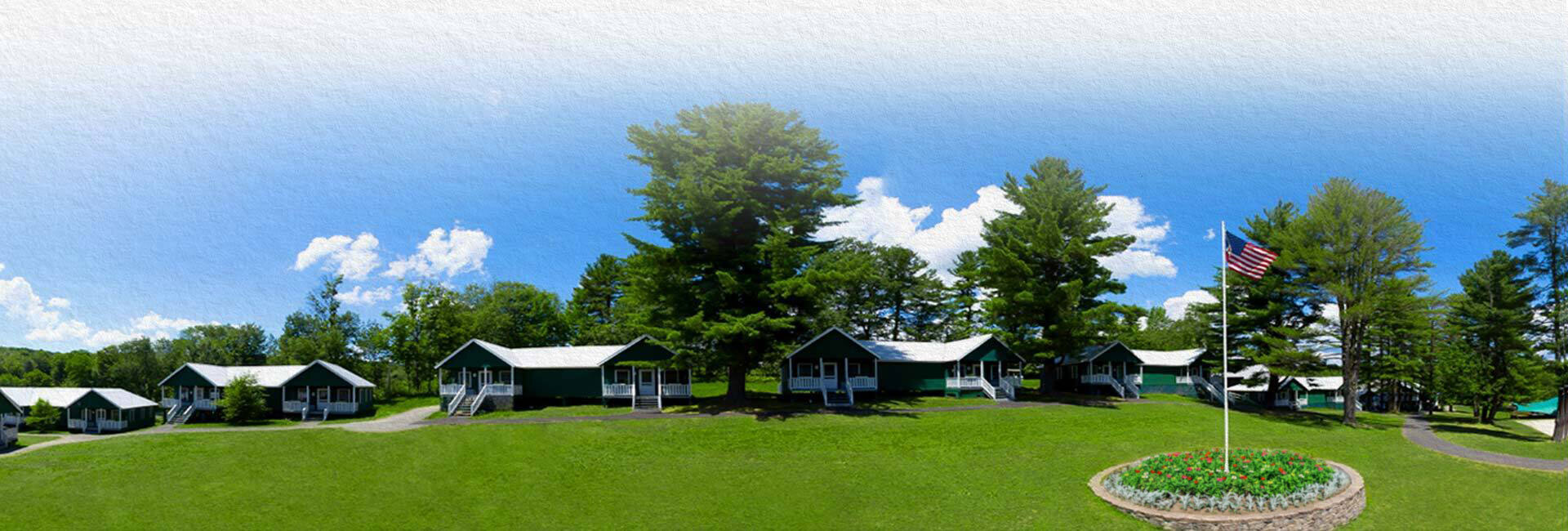 summer camp footer background photo