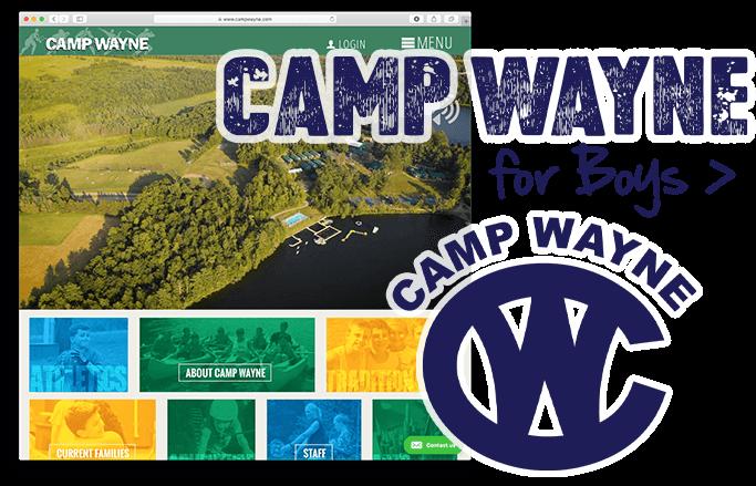 Visit Camp Wayne for Boys website